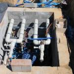 Rozdzielacz dolnego źródła pompy ciepła. (2)